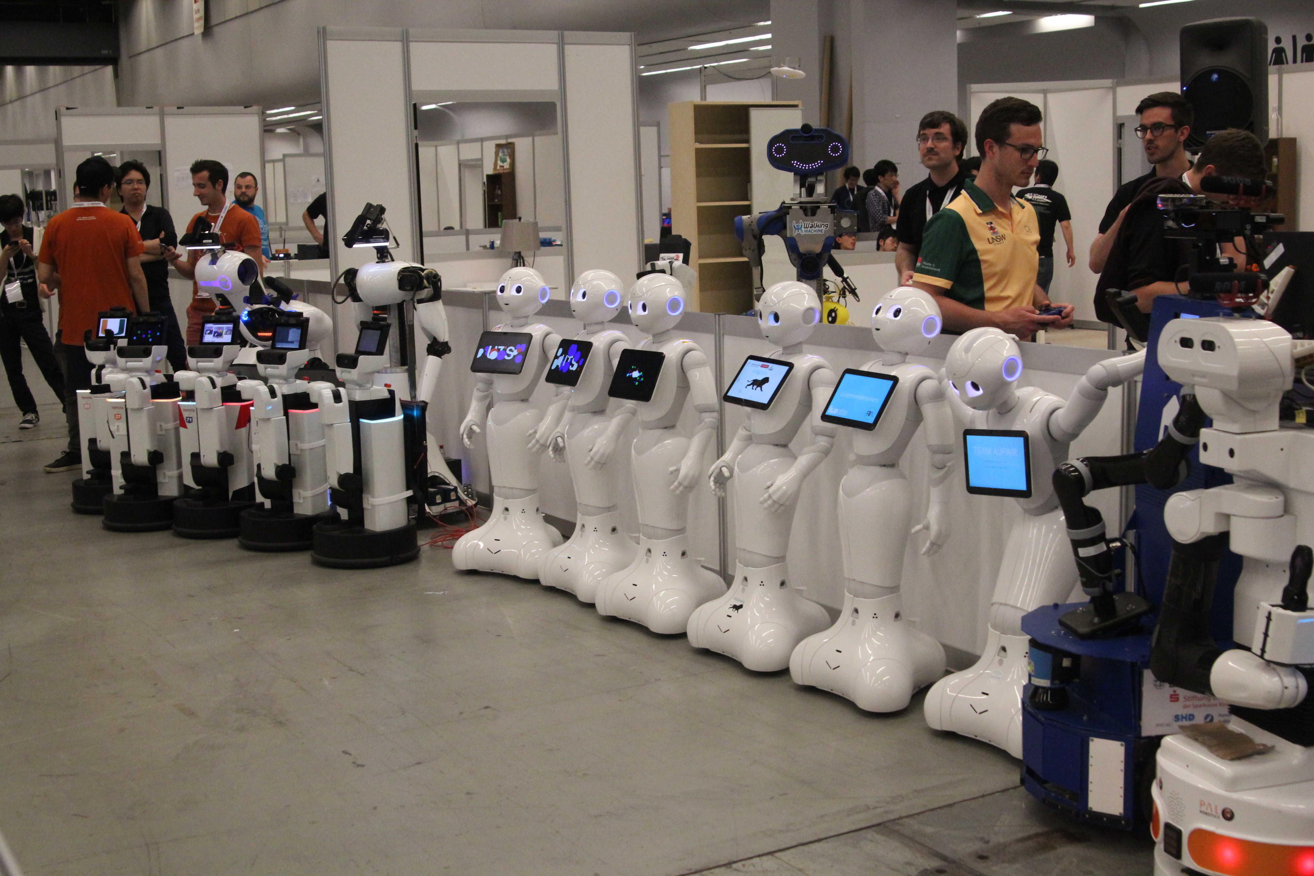 Robots Rollout