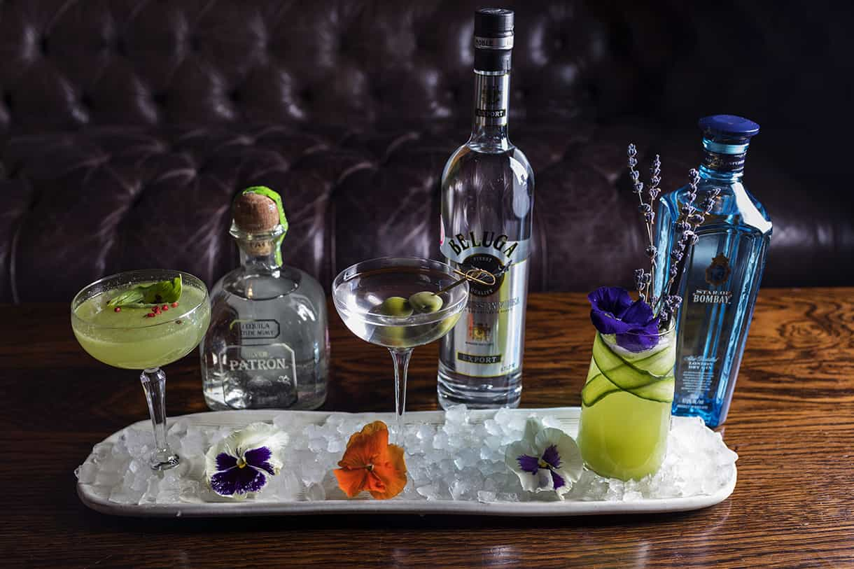 3 cocktail drinks