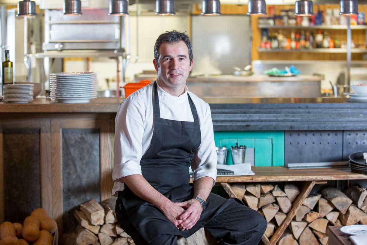 chef portrait smiling