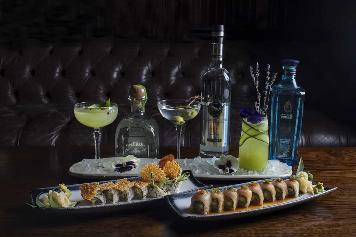 pairing cocktails with sushi