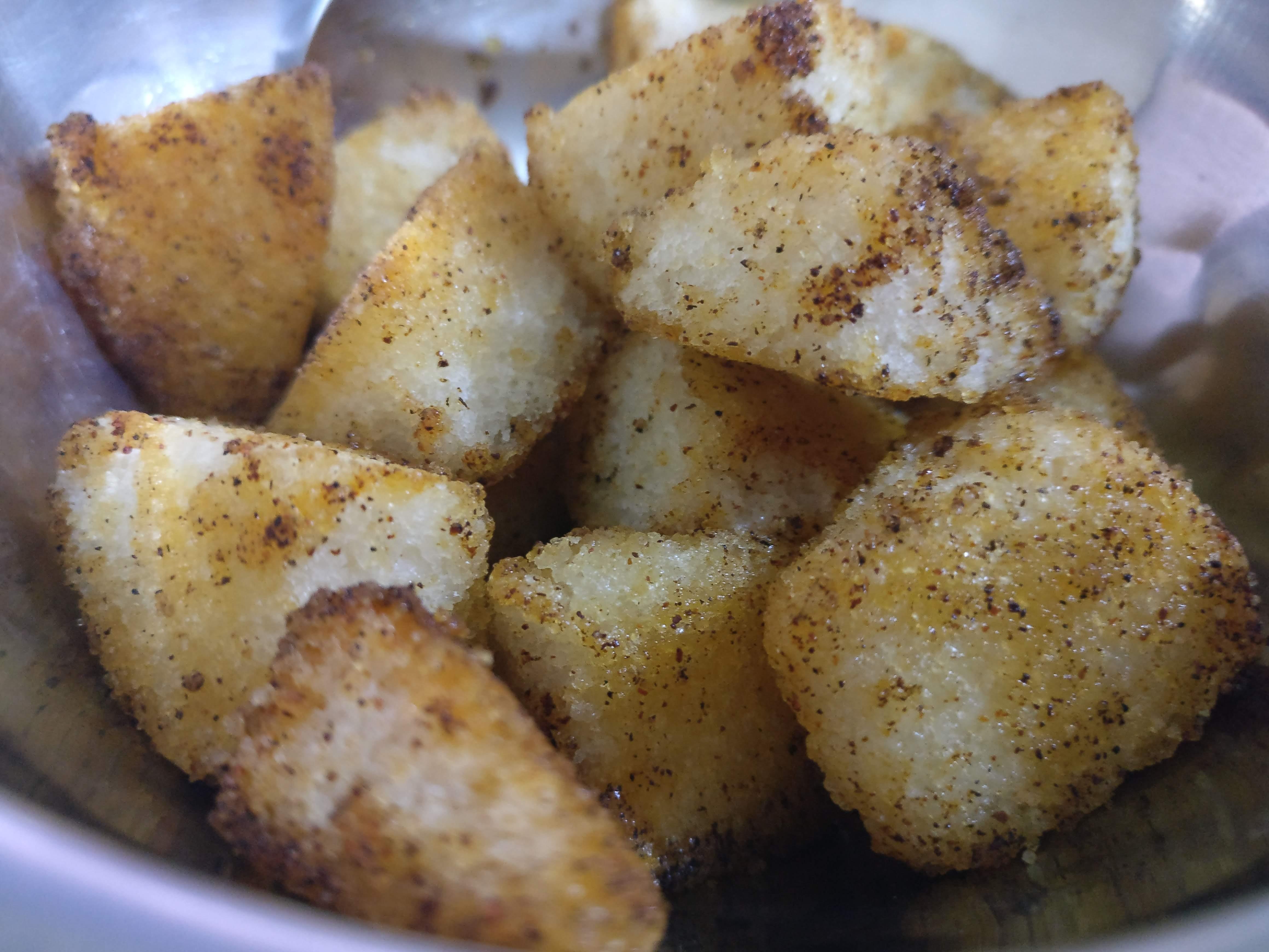 Fried idly