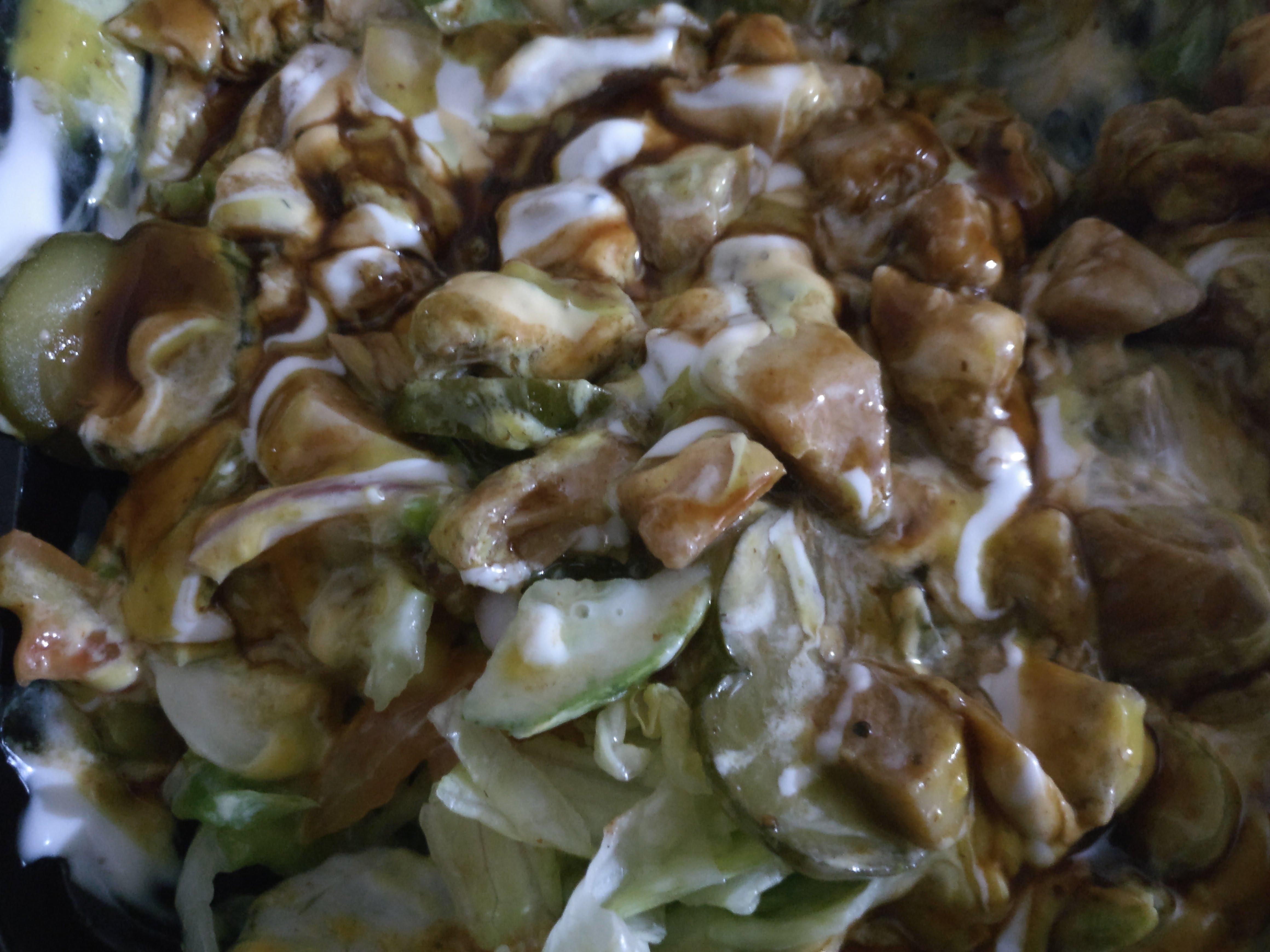Subway Chicken Teriyaki Salad