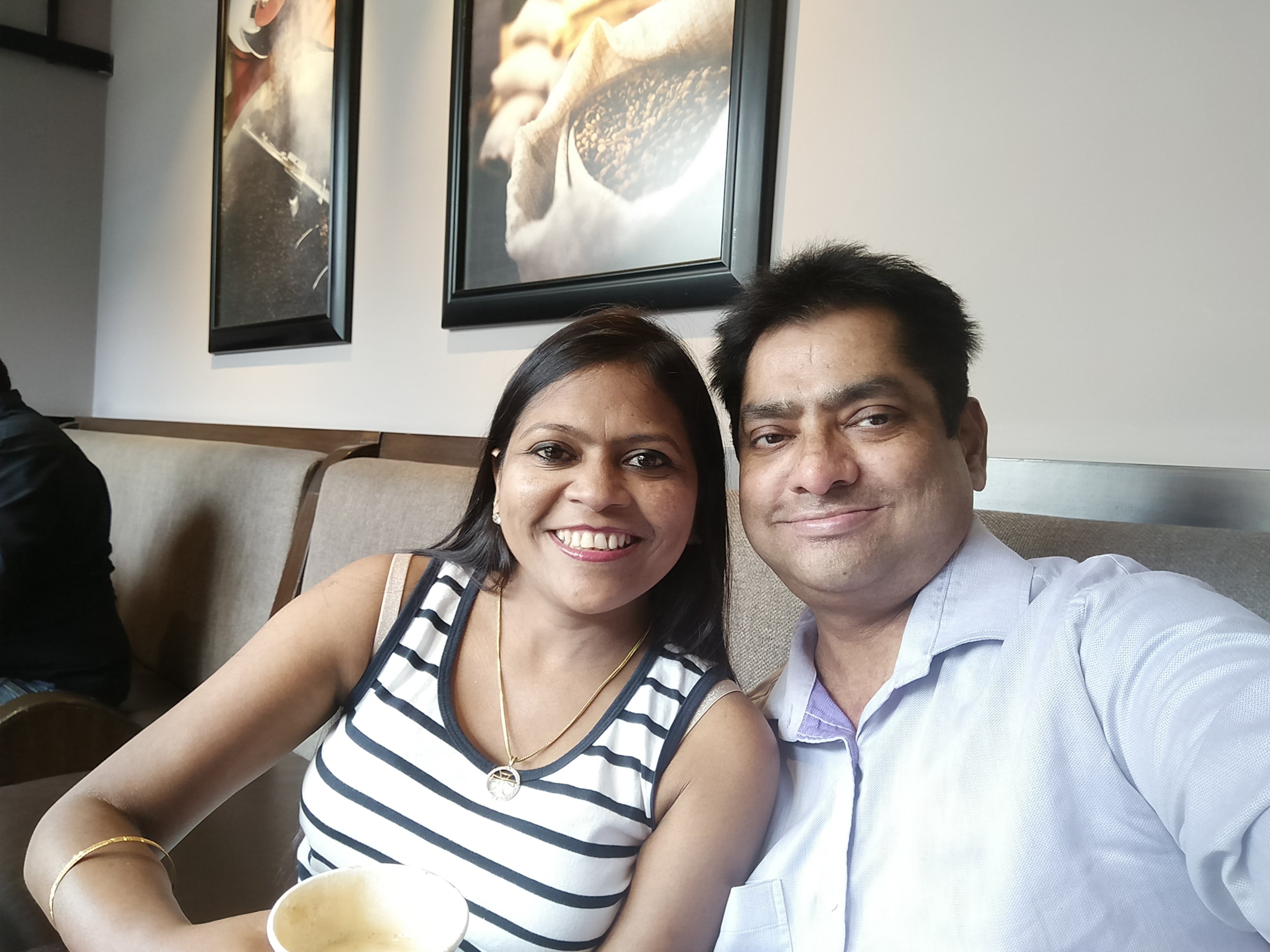 Rajiv and Padma