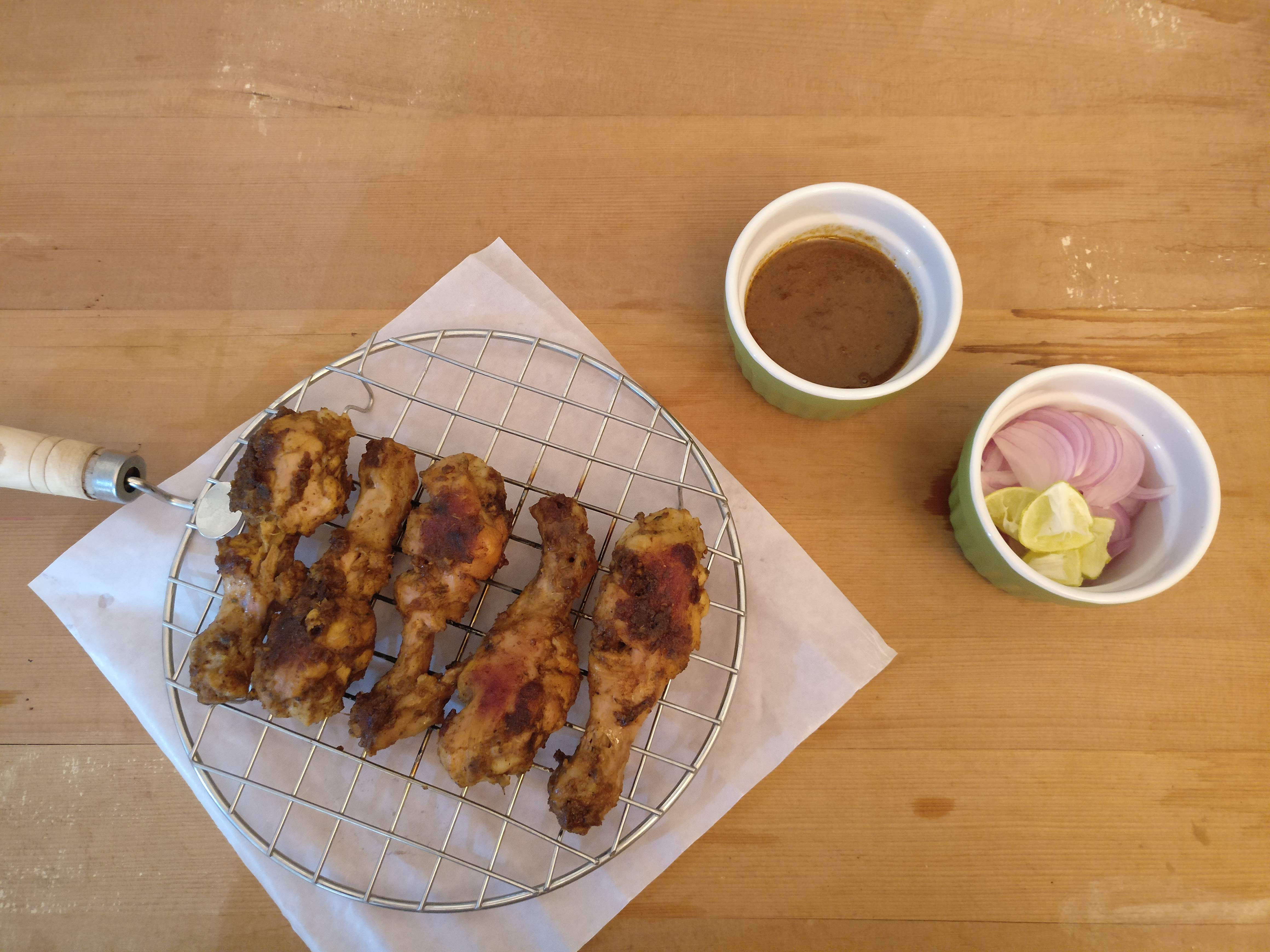 Chicken Drumsticks with Fajita Seasoning