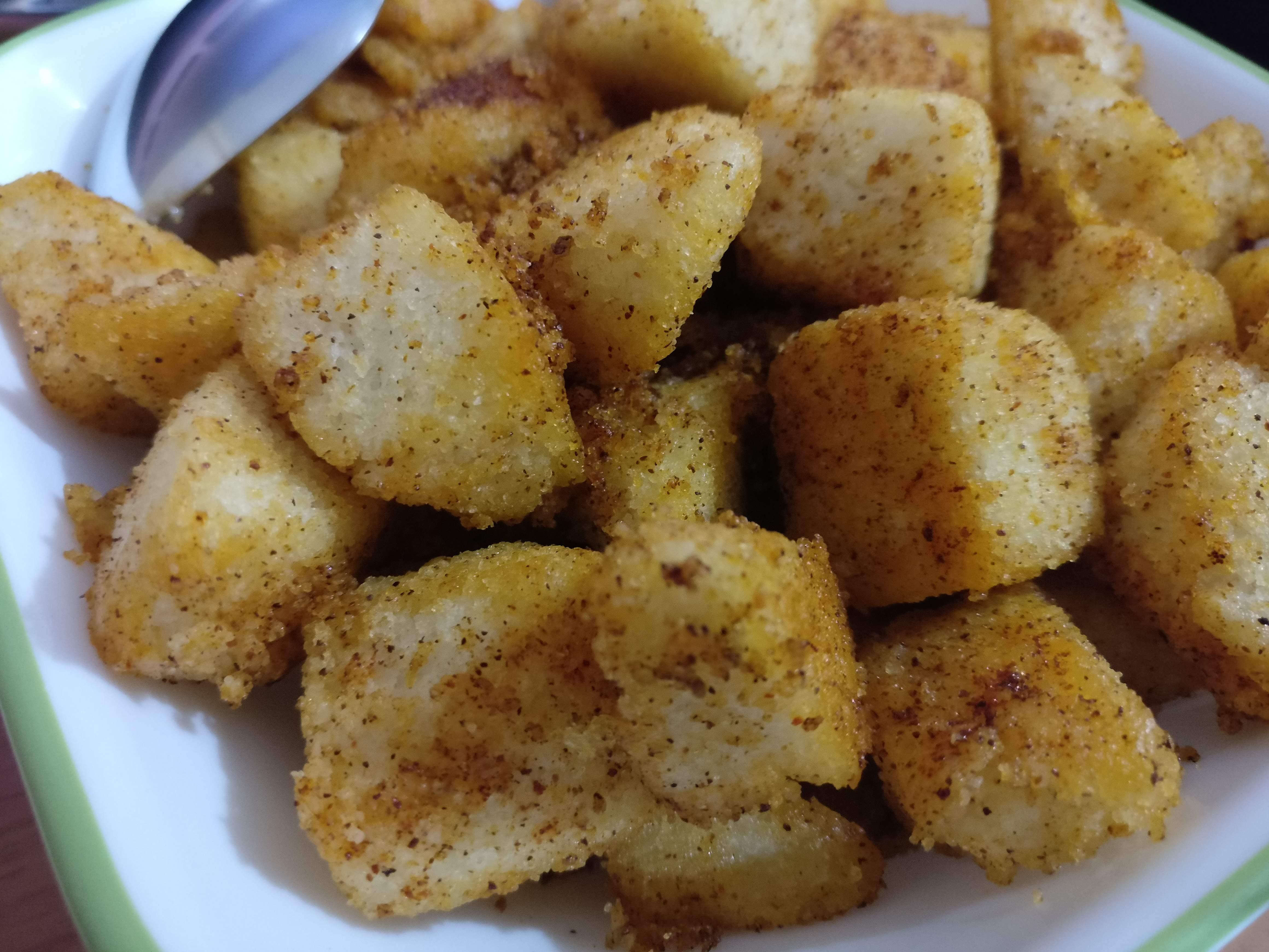 Fried Idlis
