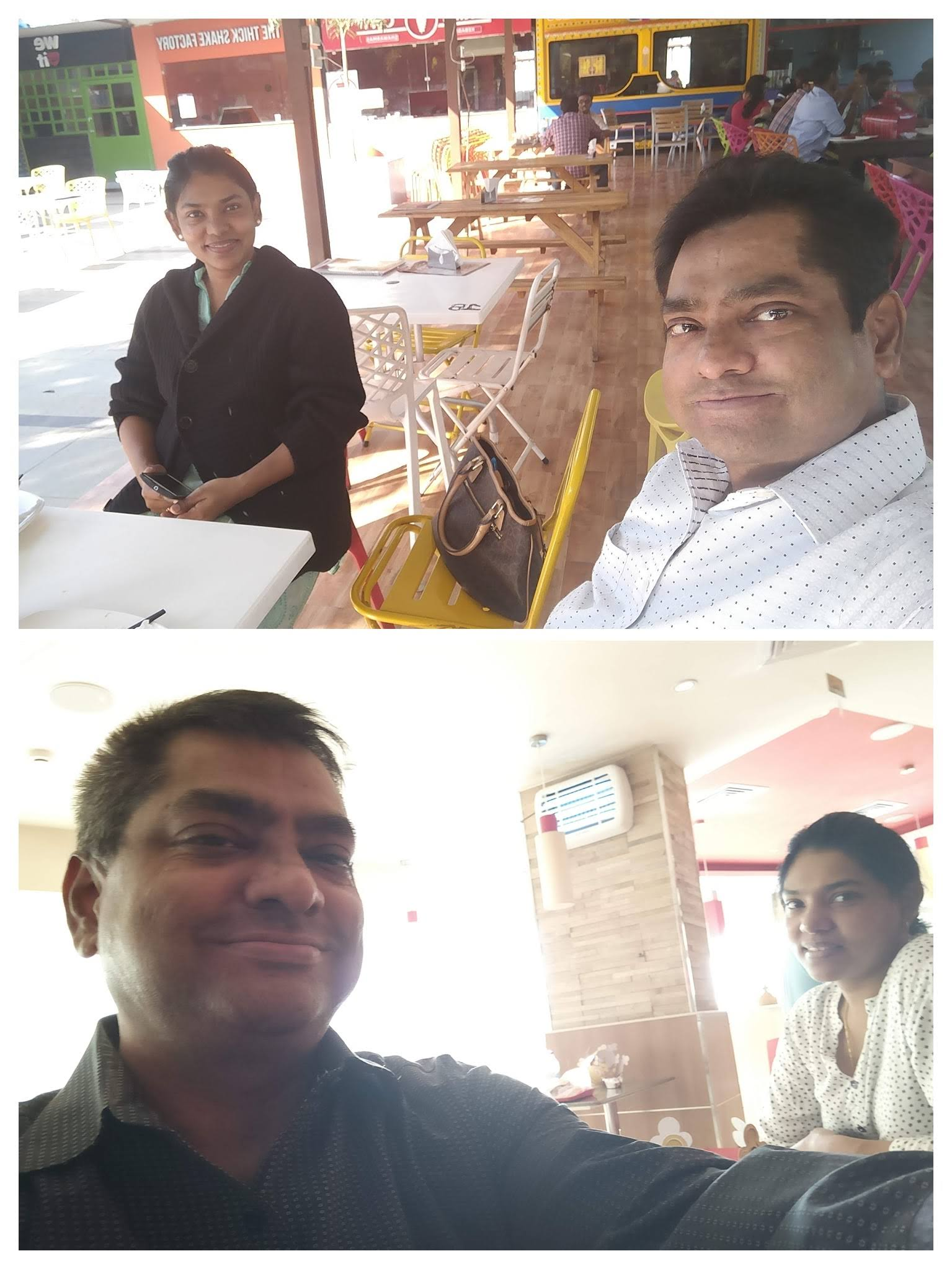 Rajiv and Grace