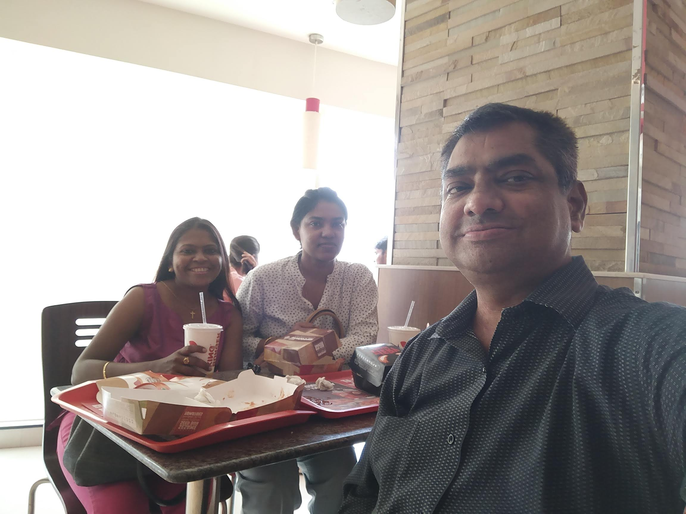 Rajiv, Padma, and Grace