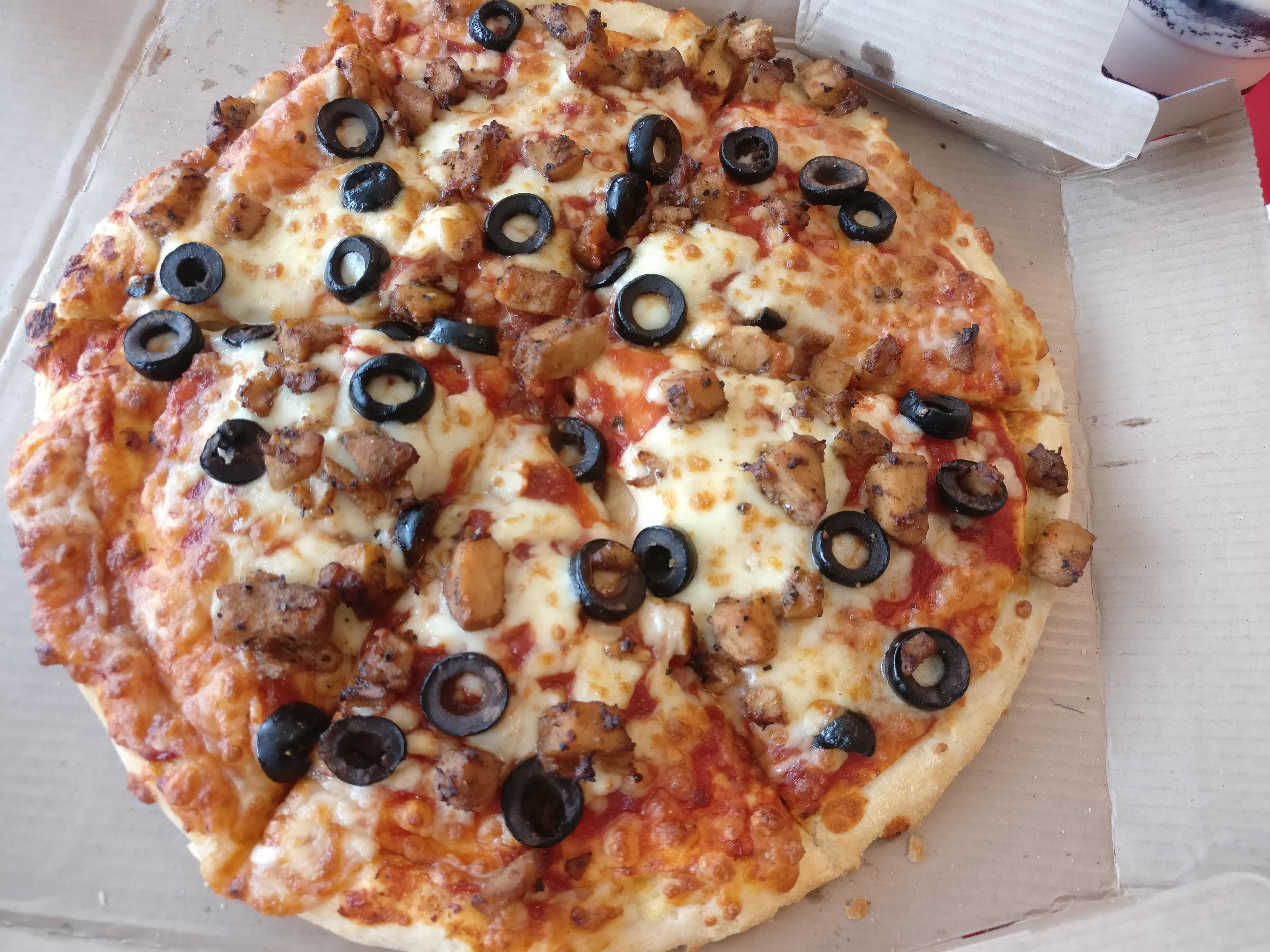 Pepper Barbecue Chicken Pizza