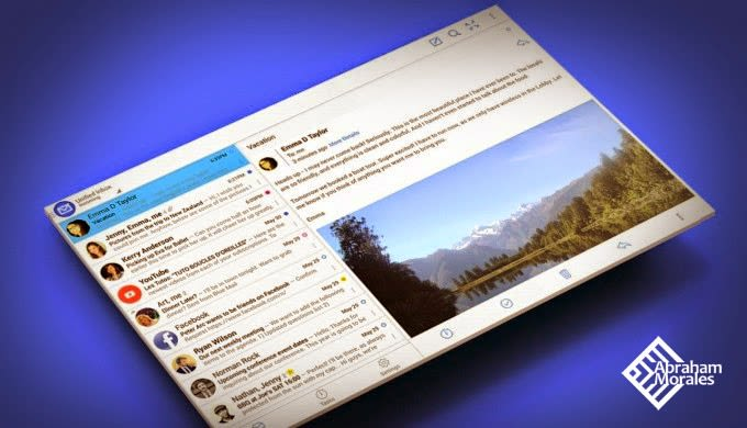 Blue Mail: correo en Android