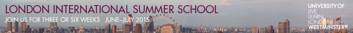 University of Westminster: London - Summer School