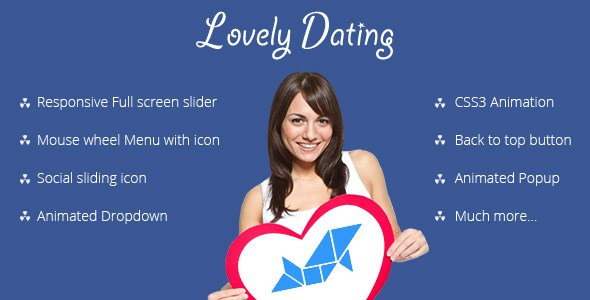 Lovely Dating-template