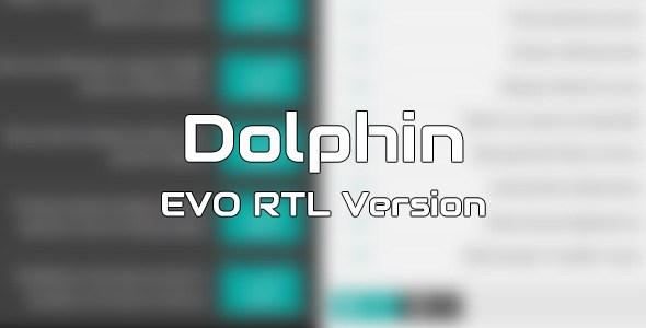Dolphin EVO RTL Version – Template