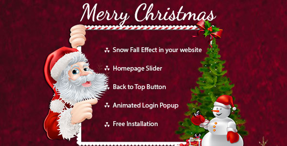 Merry-christmas template