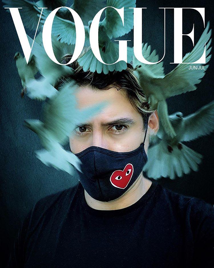Edward Enninful's Top 10: The Best #VogueChallenge Reader Covers