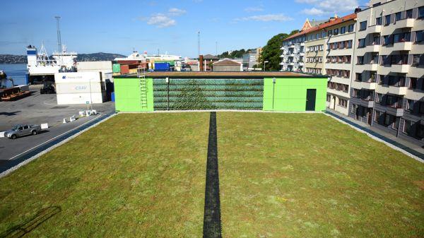 Illus. Dette taket kan hindre flom i Bergen