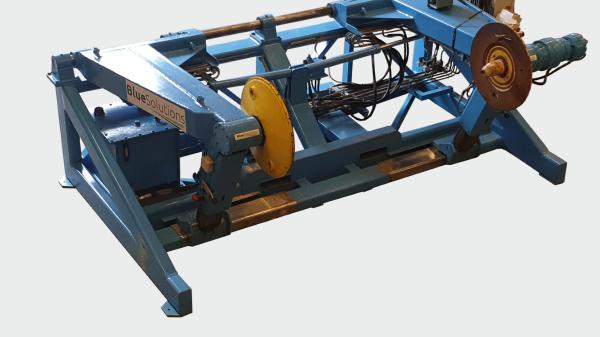 Illus. Spooling Machine - Spoleapparat