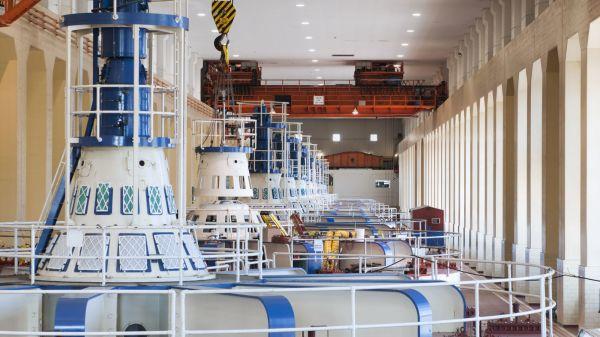 Illus. Hydro Power Plant