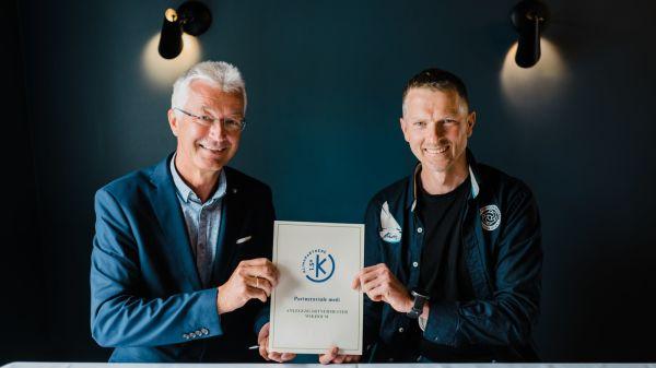 Illus. Signering av partnerkontrakt med Klimapartnere Vestland.