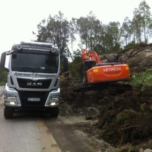 Lasting av dumper på Govik