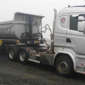 Scania trekkvogn Norslep tippsemi