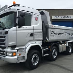 Nyleveranse av Scania lastebil i Bergen