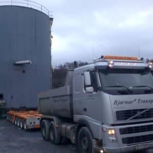 Transport av oljetank