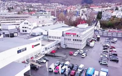Illus. Vi besøkte og filmet hos Norfloor i Bergen.