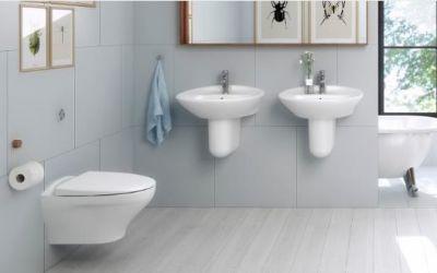 Illus. Rørlegger Hagenes hjelper deg å finne møbler, dusj, blandebatterier mm.