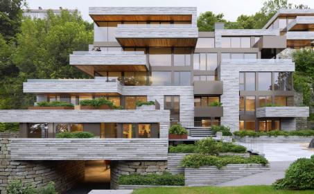 Illus. Bellevue 2 - Et unikt boligprosjekt
