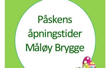 Illus. Påsken på Måløy Brygge - åpningstider og aktiviteter