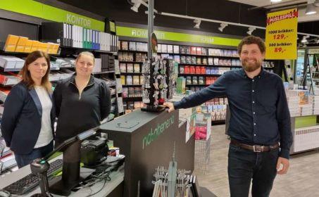 Illus. Notabene åpnet butikk på Stryn Torg