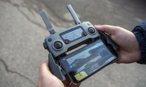 Illus:  Praktisk med livestreaming på DJI Smart Controller