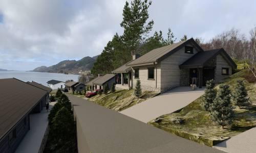 Illus: Castle Properties, hyttefelt Ytre Sogn