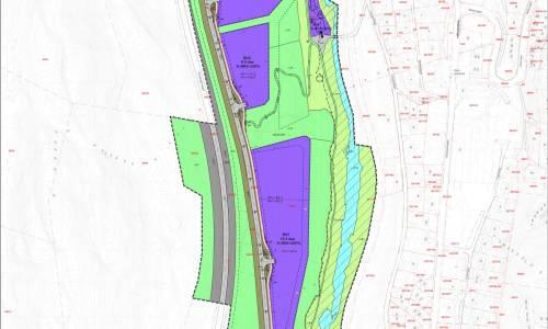 Illus: Reguleringsplan, detaljregulering Arna gnr 299 bnr 25 m.fl Arnadalsflaten - Næring