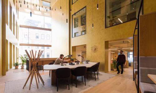 Illus: V39 - Prosjektet vårt i Vaskerelven ligger midt i det historiske Bergen sentrum