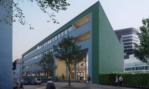 Illus: Autogården blir kompetansehus for byutvikling