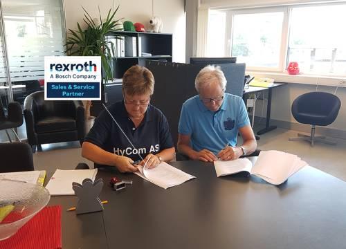 Illus: HyCom har signert avtale med Bosch Rexroth