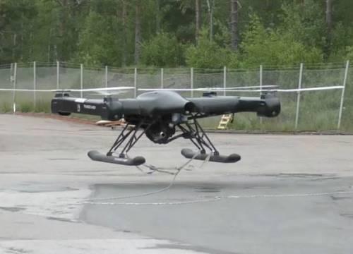 Illus: Drone for langvarig operasjoner