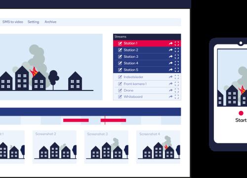 Illus: IncidentShare er en sikker, brukervennlig og fleksibel software