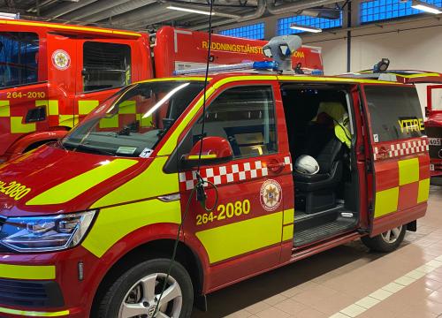 Illus: Innsatslederbil til Landskrona