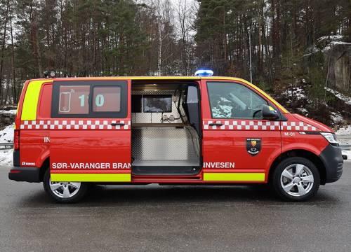 Illus: Innsatslederbil til Sør-Varanger