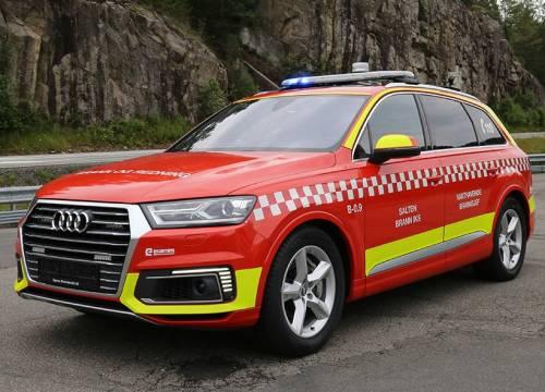 Illus: Ny vakthavende brannsjef bil til Salten brann IKS