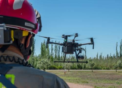 Illus: Droner over Norges største industriområde