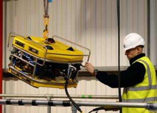 Illus: ROV hos Sellafield atom anlegg