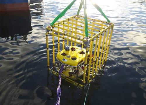 Illus: Ocean Modules V8 M500 Intervention ROV