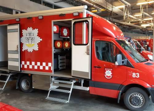 Illus: Innsatsstøtte enhet til Bergen brannvesen