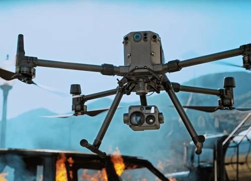 Illus: Brannvesen øker Droneberedskapen