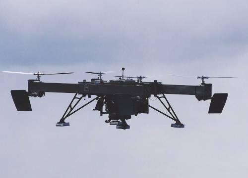 Illus: Drone erstatter løftekran
