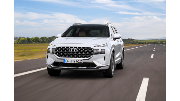 Illus. Hyundai Santa Fe- Nå som Plug in Hybrid