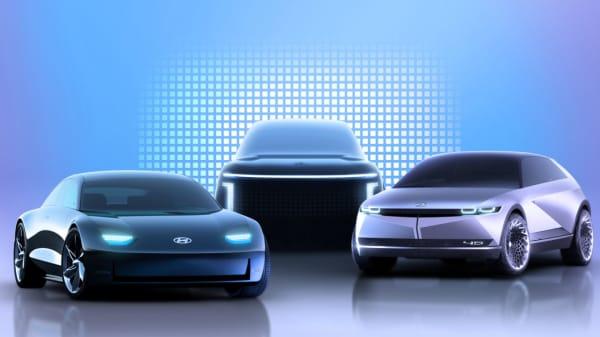 Illus. Hyundai lanserer elbiler i egen IONIQ serie